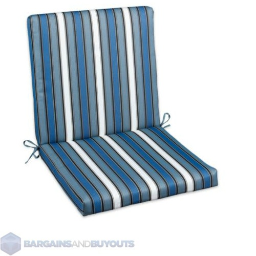 Outdoor 22 hinged back seat cushions color wbs 391127 ebay - Hinged outdoor cushions ...